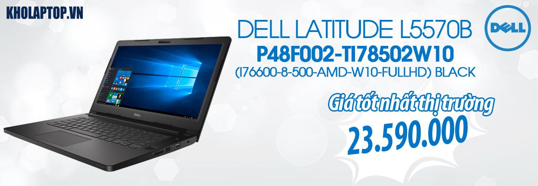 DELL LATITUDE L5570B P48F002-TI78502W10 (I76600-8-500-AMD-W10-FULLHD) BLACK