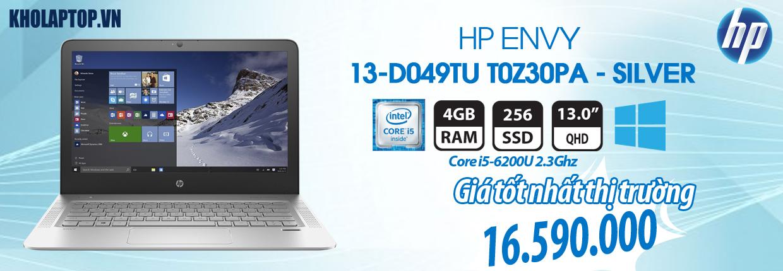 HP ENVY 13-D049TU T0Z30PA - SILVER