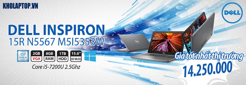 DELL INSPIRON 15R N5567 M5I5353W (I57200-8-1TB-AMD-W10) GRAY