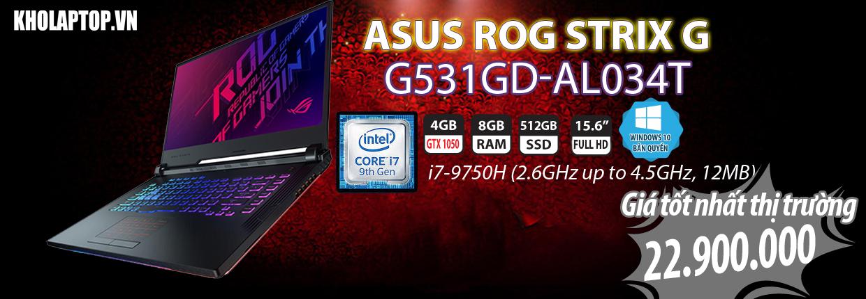 G531GD-AL034T
