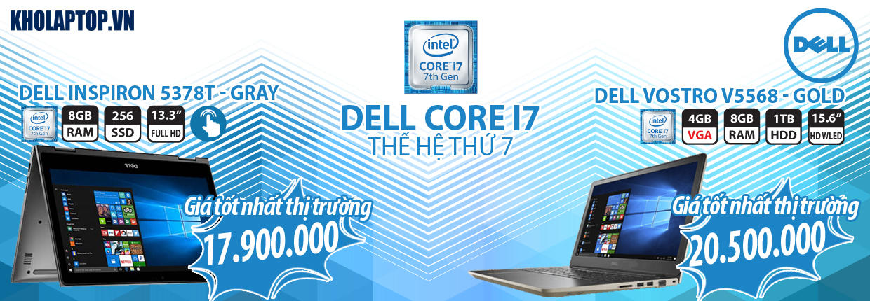 Dell-Core i7-7thxx