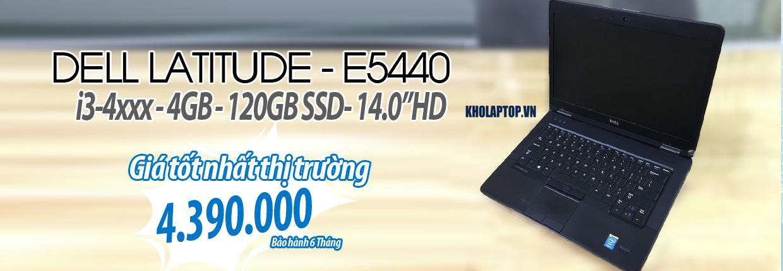 E5440 (I3-4-120SSD-ON) Black