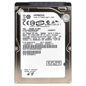"Hitachi 1TB @5400rpm SATA 2.5"" HDD for Laptop (NK)"