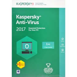 Kaspersky Anti-Virus 2017 (KAV) 1pc/1 year