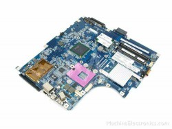 Mainboard Lenovo T43 (Card on)